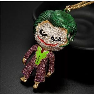 Just in! NWT Betsey Johnson. The Joker Necklace.